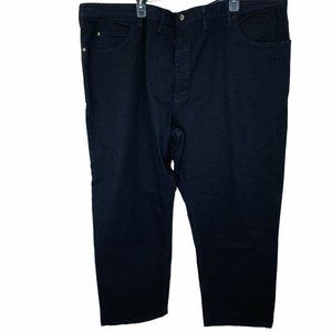 LEE RIDERS BLACK JEANS Big And Tall MOTION STRETCH